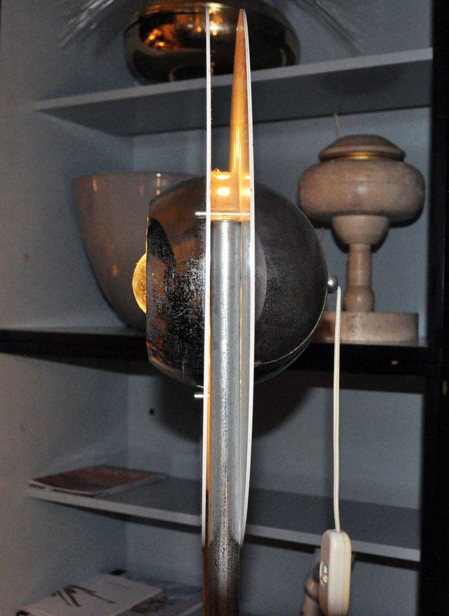 bodenlampe mit drei leuchten 1970er bei pamono kaufen. Black Bedroom Furniture Sets. Home Design Ideas