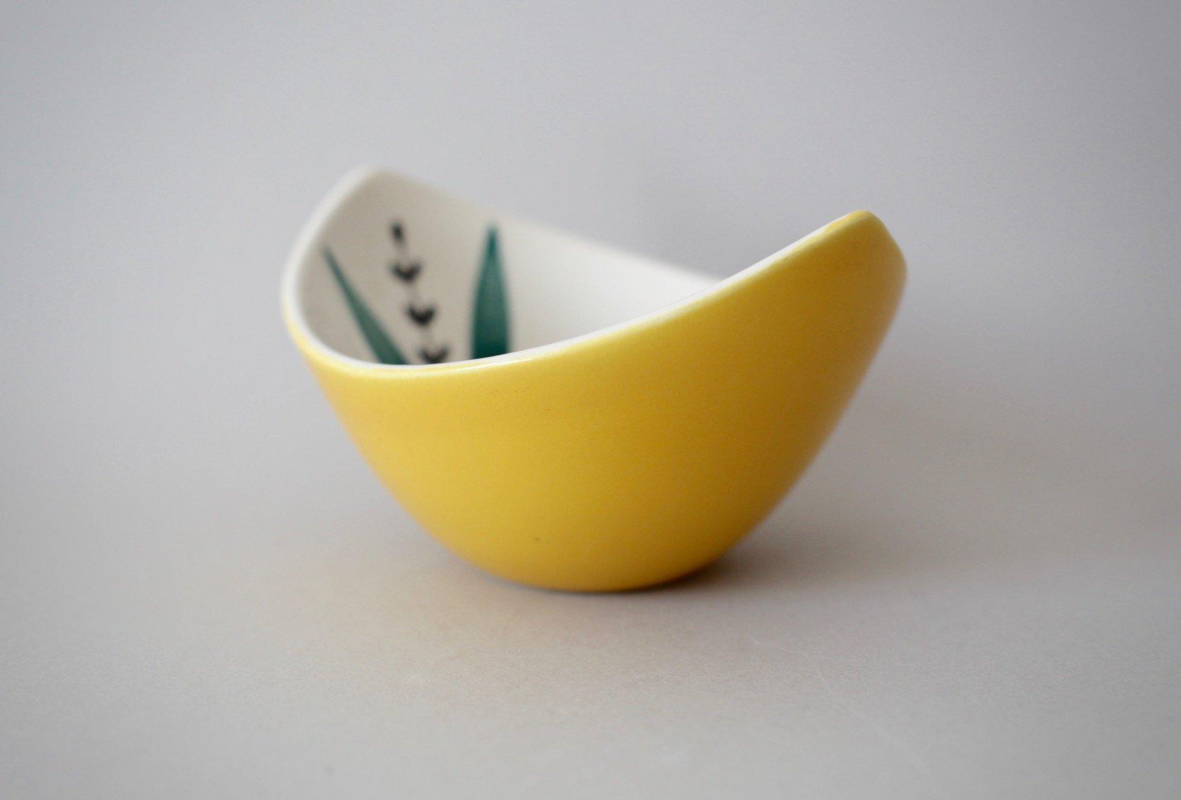 Vintage Fiskevaer Ceramic Bowl by Inger Waage for Stavangerflint for ...