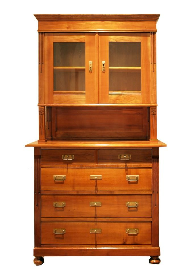 antique art nouveau buffet for sale at pamono. Black Bedroom Furniture Sets. Home Design Ideas