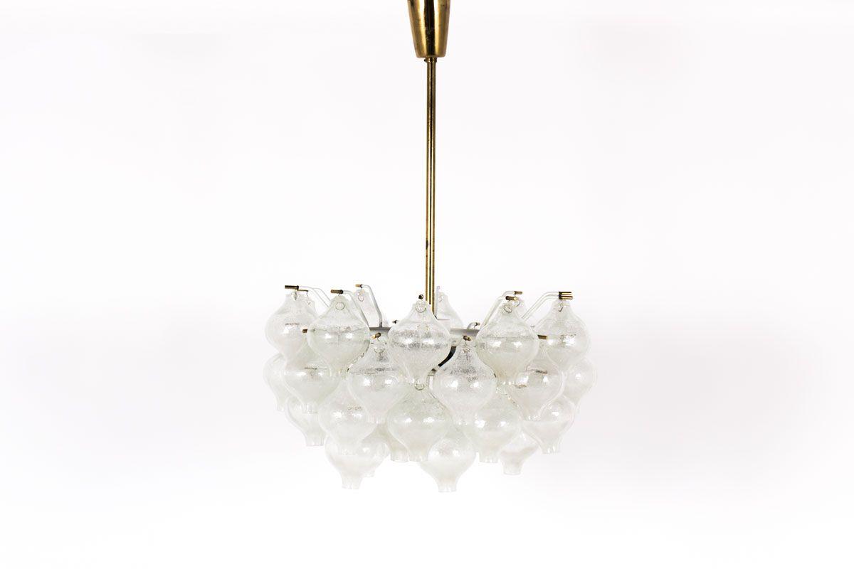 Austrian tulip chandelier by jt kalmar 1950s for sale at pamono austrian tulip chandelier by jt kalmar 1950s aloadofball Images