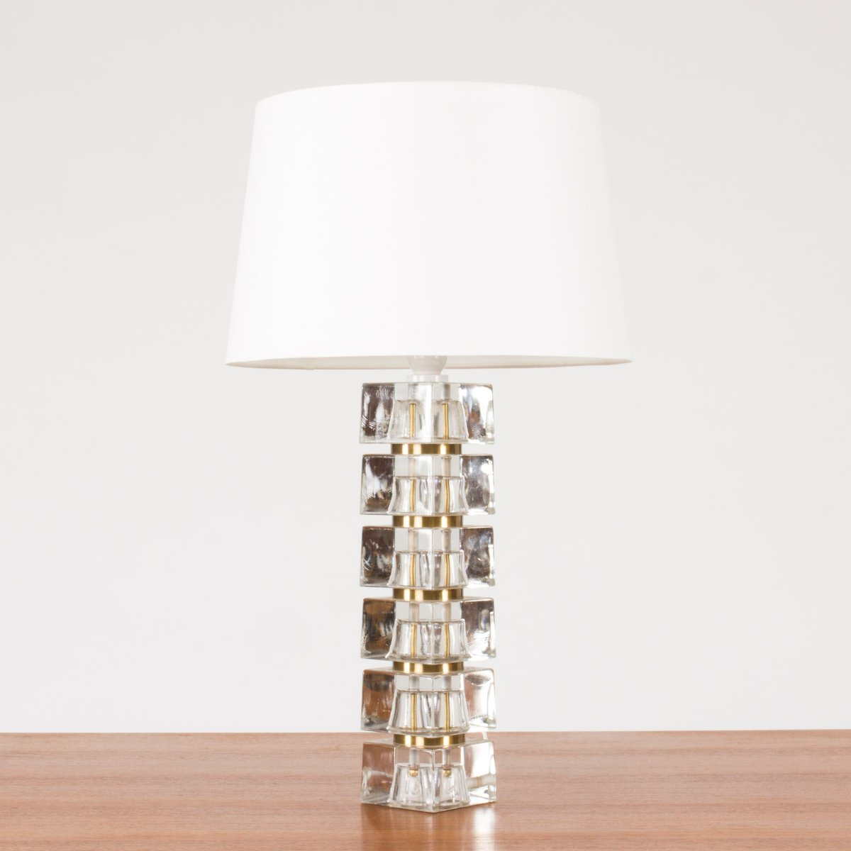 Swedish glass base table lamp 1960s for sale at pamono swedish glass base table lamp 1960s mozeypictures Gallery