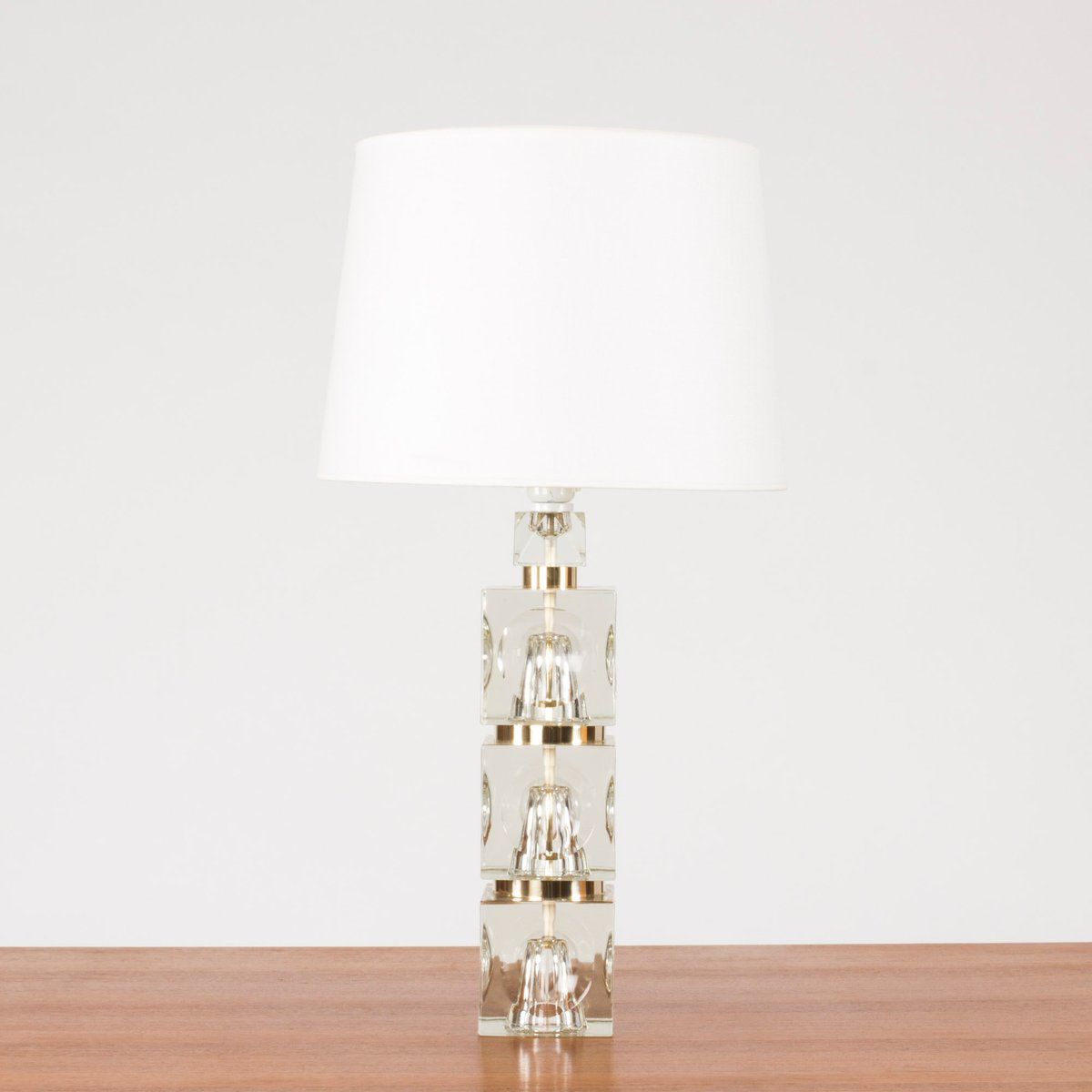 Swedish glass base table lamp 1960s for sale at pamono aloadofball Images
