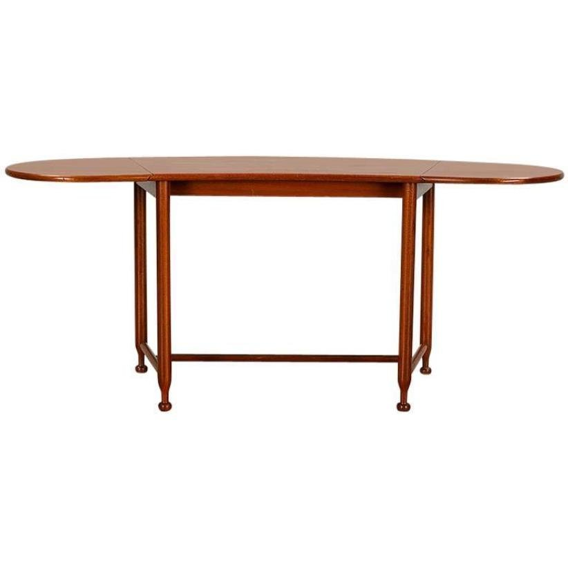 Model 1133 Mahogany Extendable Coffee Table By Josef Frank For Svenskt  Tenn, 1940s