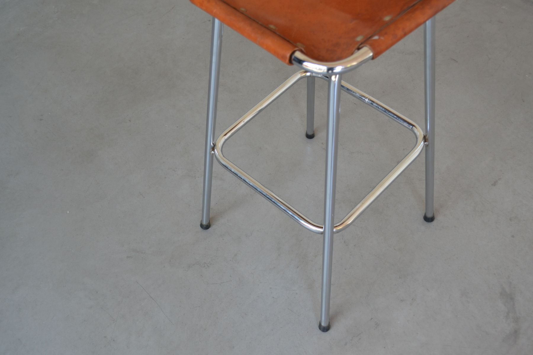 Les Arcs Bar Stool By Charlotte Perriand 1960s For Sale