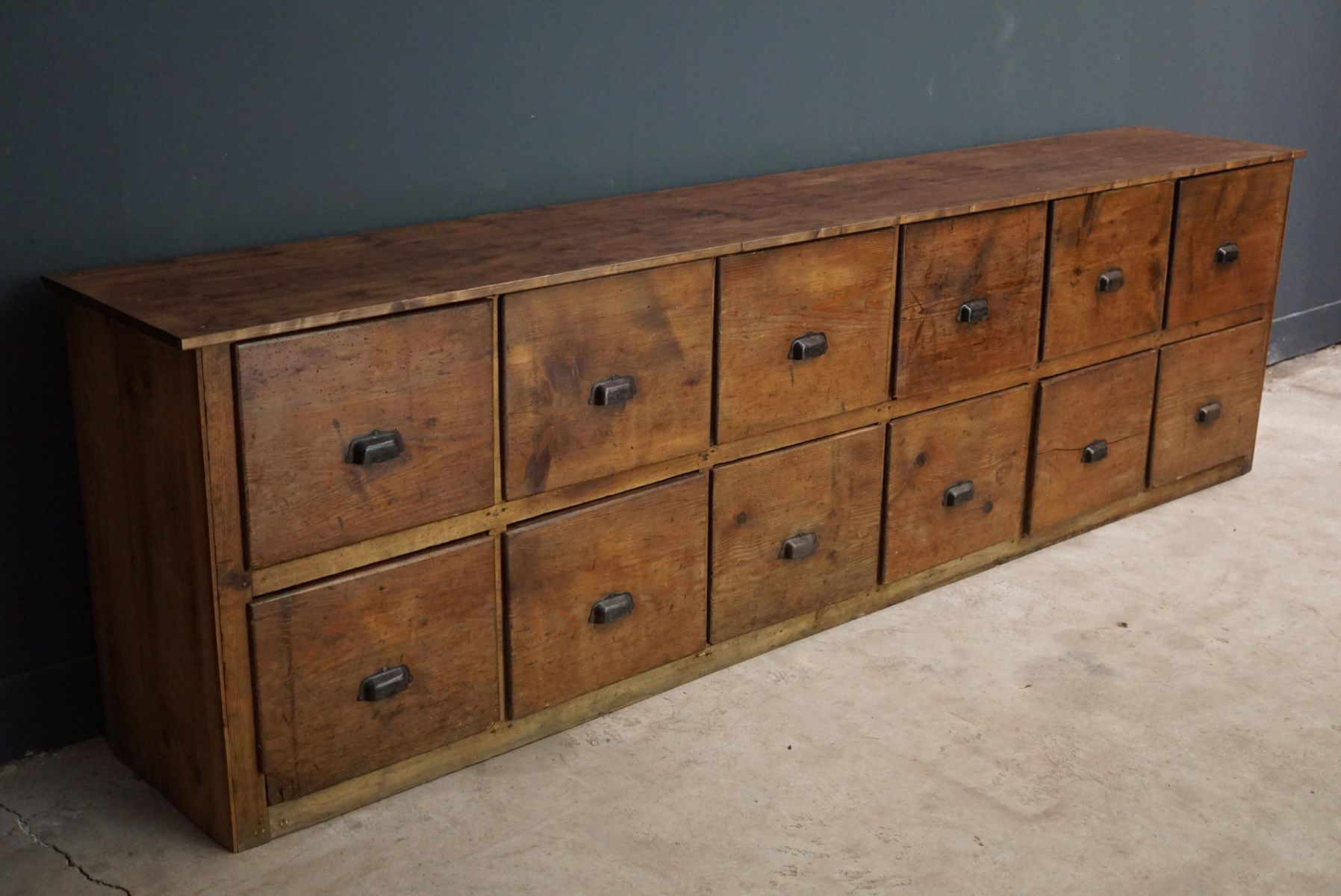 Large French Pine Apothecary Cabinet, 1950s 9. Price: $4,860.00 Regular  Price: $5,830.00