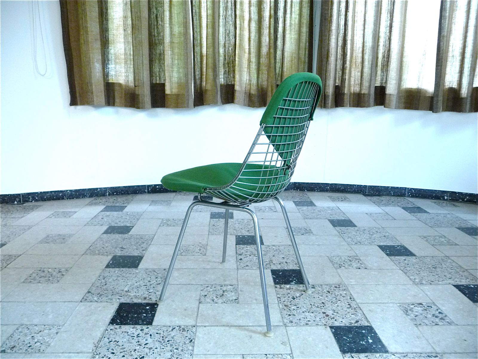 DKX Wire Bikini Chair by Charles Ray Eames for Herman Miller