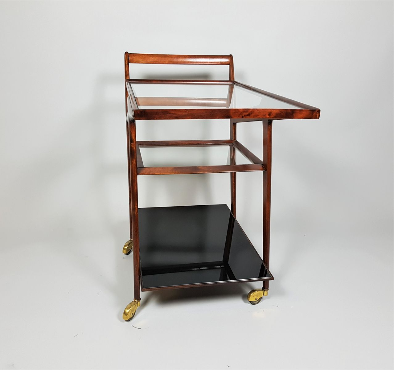 bunbinga holz servierwagen von cesare lacca bei pamono kaufen. Black Bedroom Furniture Sets. Home Design Ideas