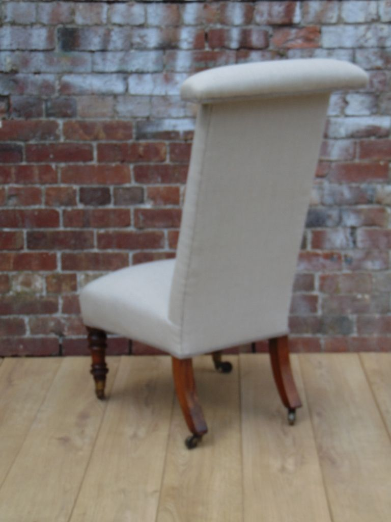 Antique Prayer Chair in Linen 7. $900.00. Price per piece - Antique Prayer Chair In Linen For Sale At Pamono