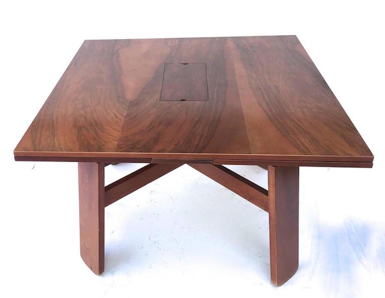 esstisch mit vier st hlen von silvio coppola f r bernini 1960er bei pamono kaufen. Black Bedroom Furniture Sets. Home Design Ideas