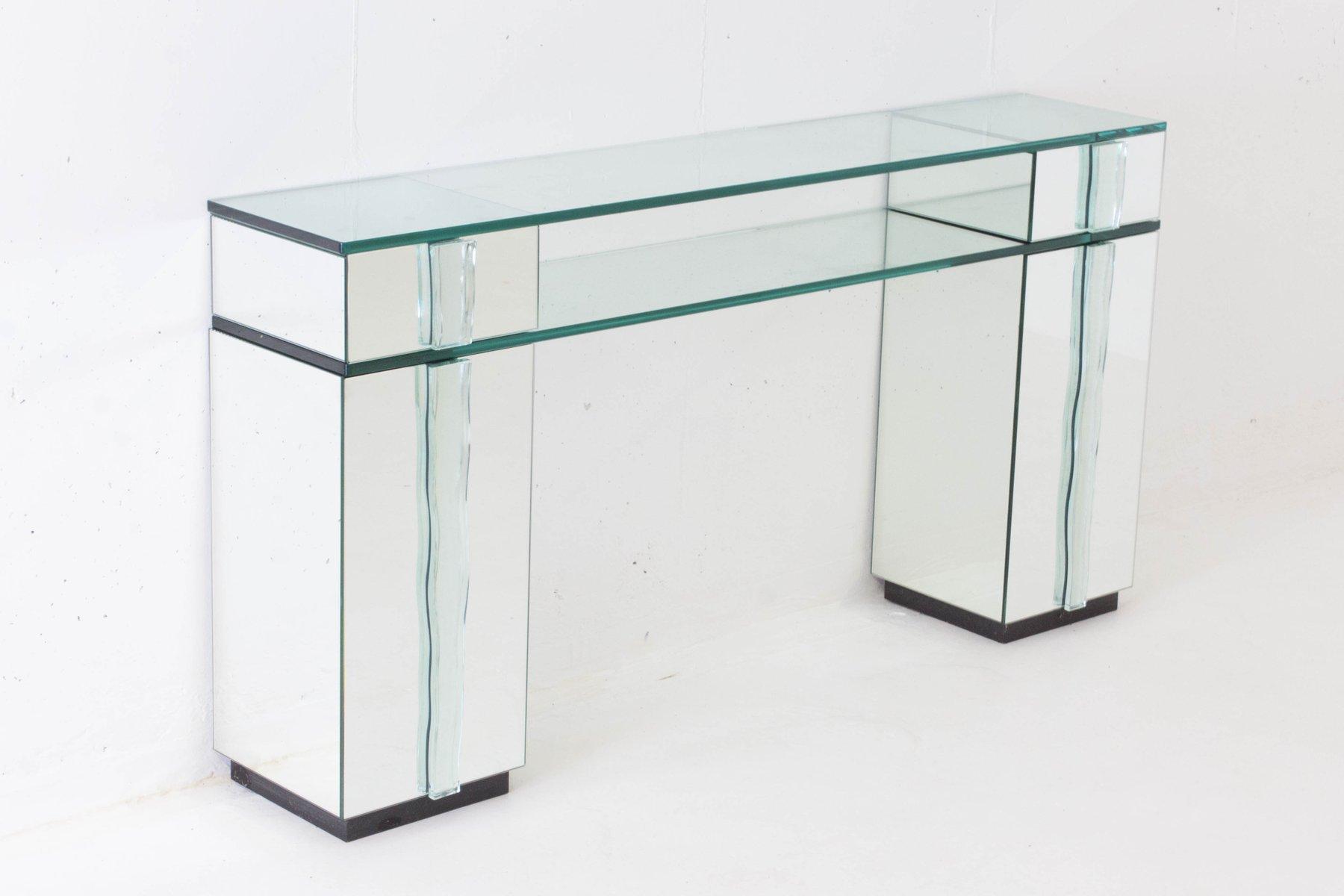 hollywood regency konsolentisch mit spiegel 1970er bei. Black Bedroom Furniture Sets. Home Design Ideas