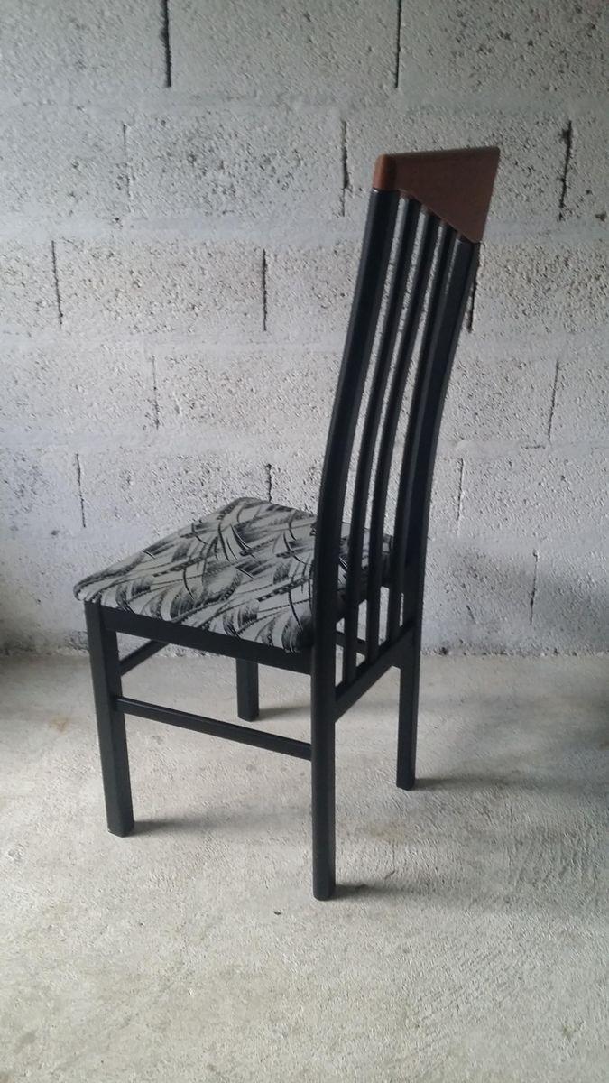 Lackierter stuhl aus buche 1980er bei pamono kaufen for Stuhl buche