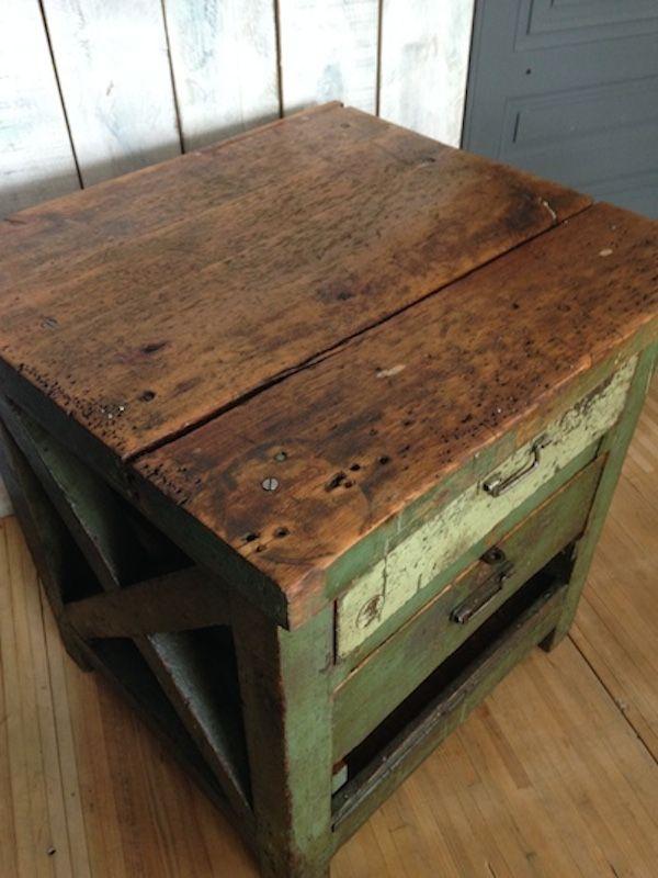 Vintage Workshop Table 12. Price: $1,895.00 Regular Price: $2,147.00