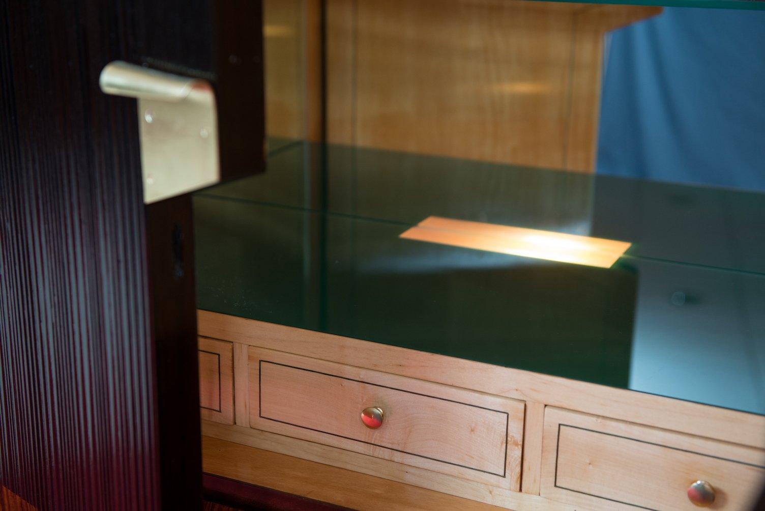 mid century schrank mit bar von vittorio dassi f r dassi figli bei pamono kaufen. Black Bedroom Furniture Sets. Home Design Ideas