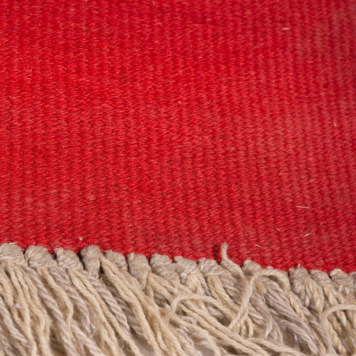 tschechischer vintage teppich mit geometrischem muster in rot und schwarz bei pamono kaufen. Black Bedroom Furniture Sets. Home Design Ideas