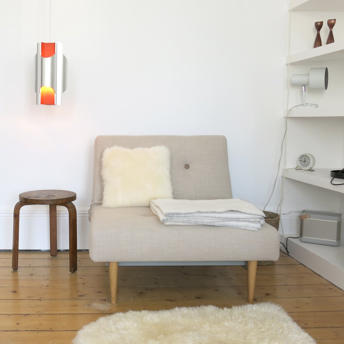Danish Space Age Pantre Art Light by Bent Karlby for Lyfa, 1960s for ...