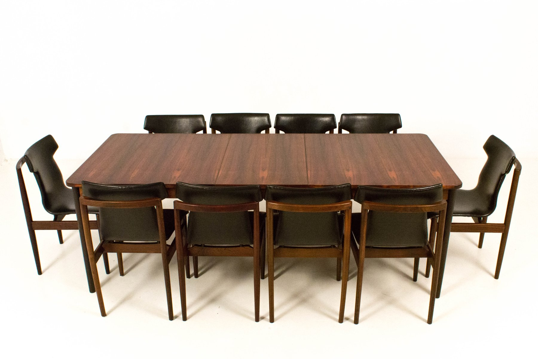 Mid Century Modern Large Extendable Dining Table From Fristho 1960s For Sale At Pamono