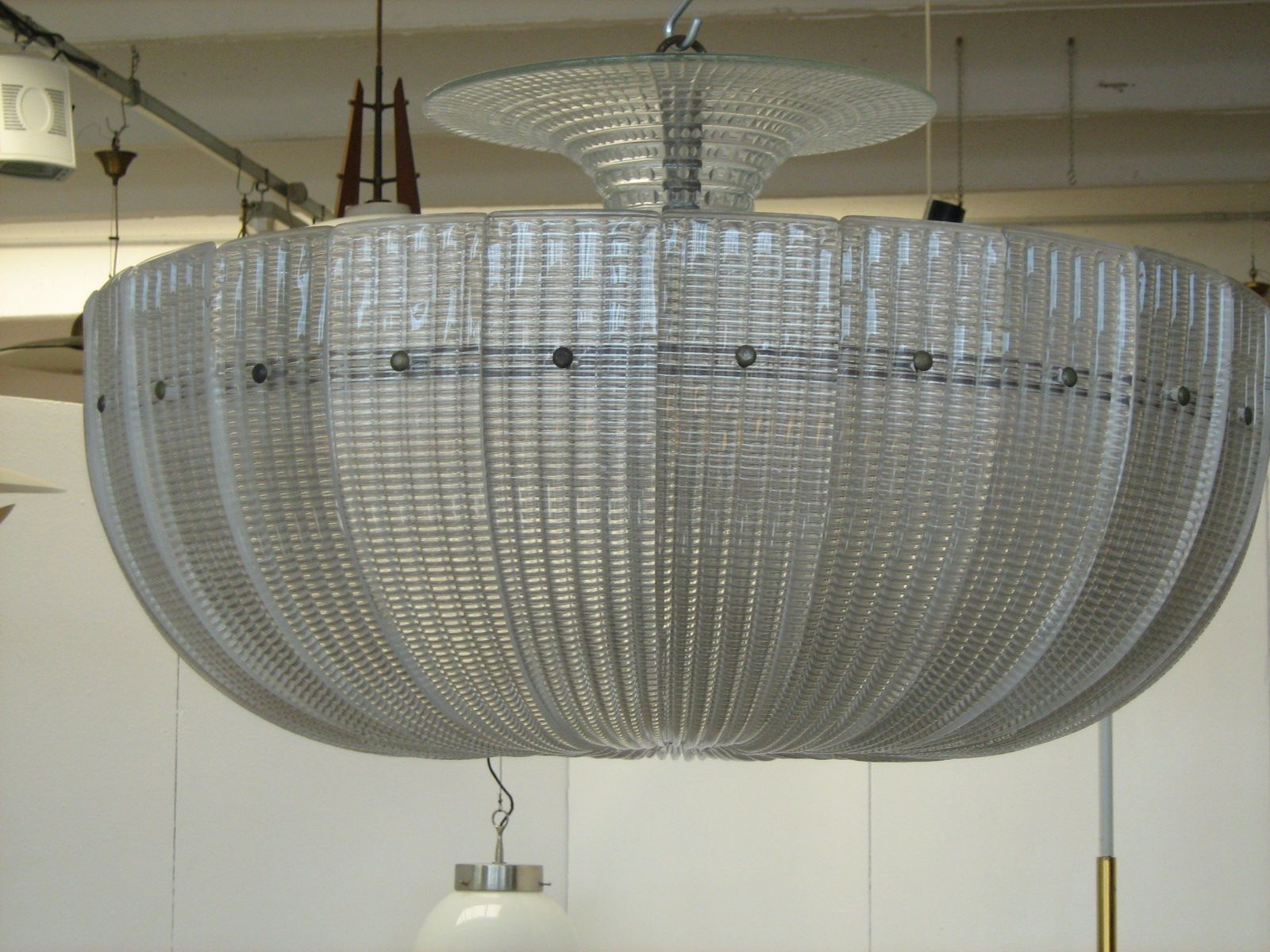 Vintage murano glass chandelier from venini 1939 for sale at pamono aloadofball Image collections