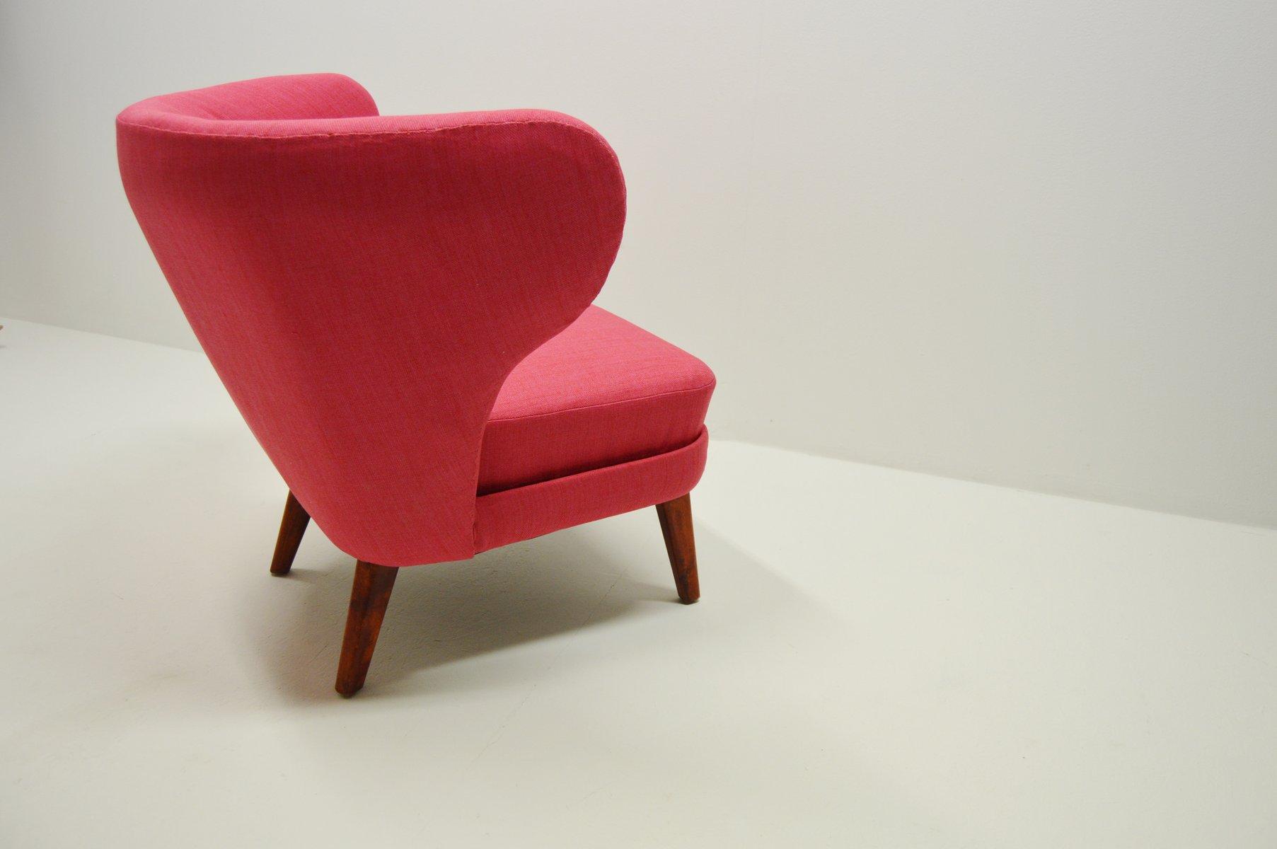 vintage sessel in pink 1950er bei pamono kaufen. Black Bedroom Furniture Sets. Home Design Ideas