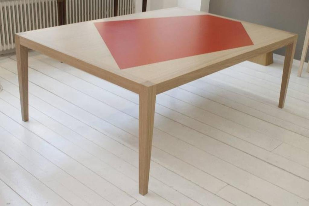 Oak dining table by philippe cramer 2016 for sale at pamono for Table 52 2016