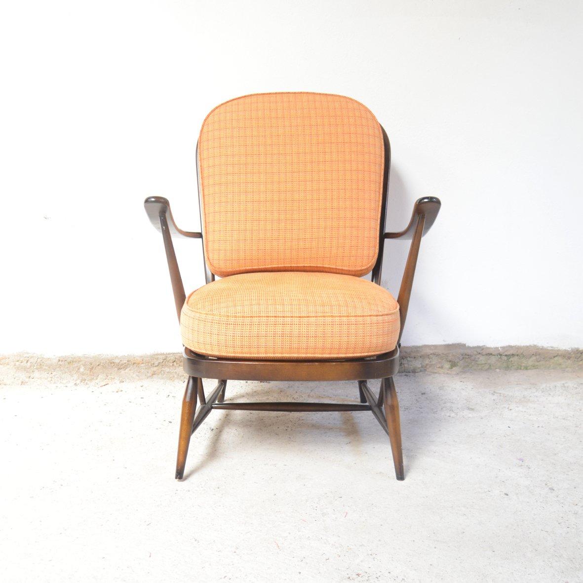 sessel von lucian ercolani f r ercol 1960er bei pamono kaufen. Black Bedroom Furniture Sets. Home Design Ideas
