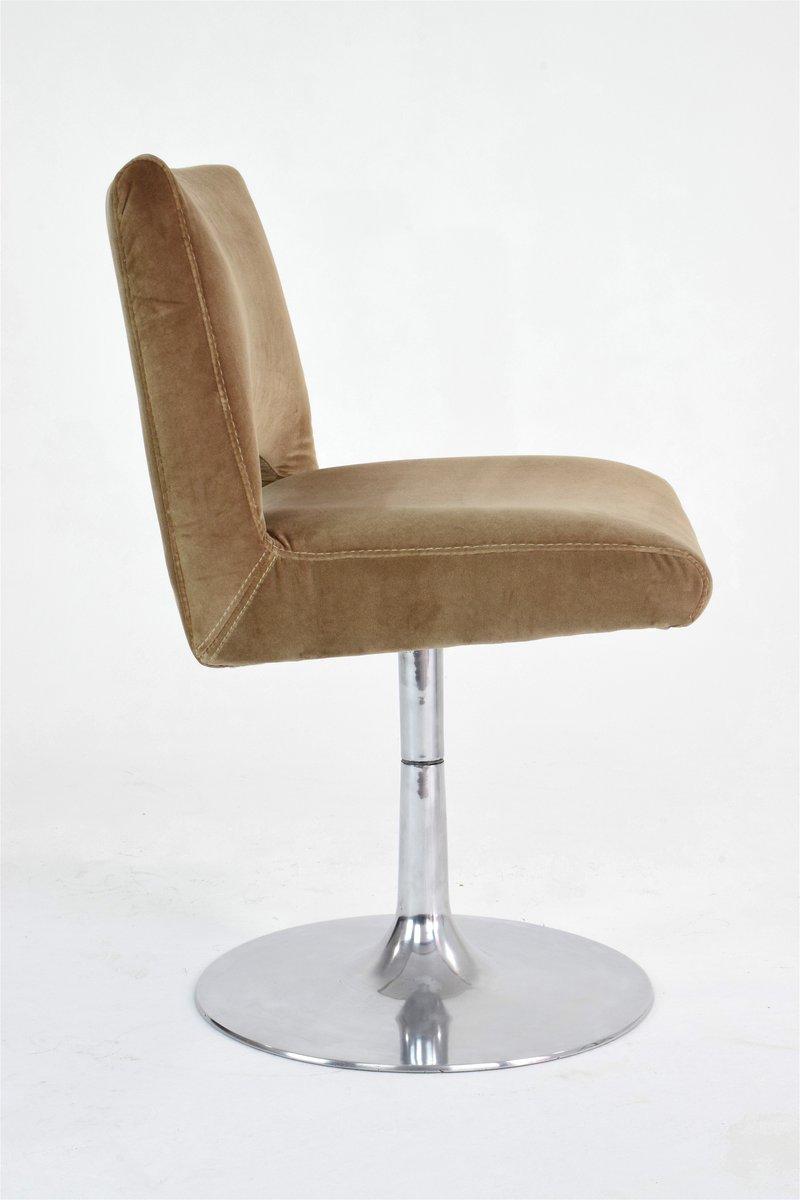 Chaise tulipe en velours france 1970s en vente sur pamono - Chaise en velours ...