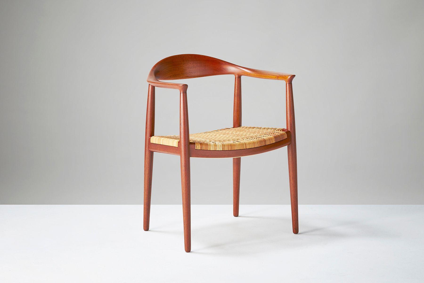 hans j wegner furniture. vintage jh-501 the chair by hans j. wegner for johannes hansen j furniture g
