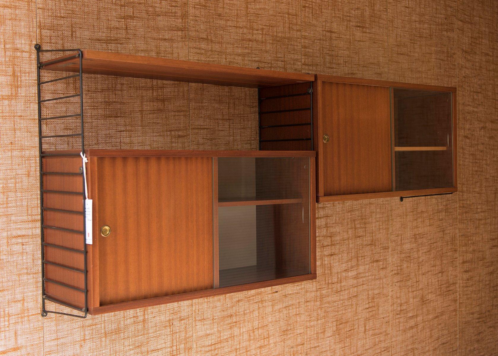 regalsystem von nisse strinning f r string 1950er bei pamono kaufen. Black Bedroom Furniture Sets. Home Design Ideas
