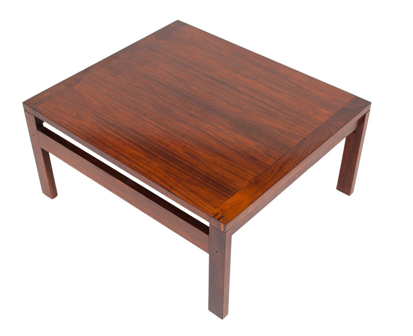 Mid Century Moduline Rosewood Coffee Table By Ole Gjerlov Knudsen U0026 Torben  Lind For France U0026 Søn