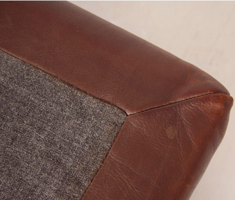ds85 sofa oder schlafsofa aus braunem leder von de sede 1960er bei pamono kaufen. Black Bedroom Furniture Sets. Home Design Ideas