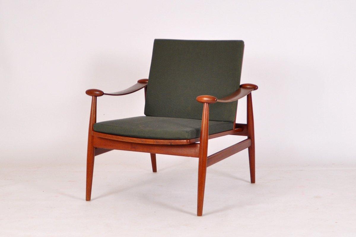 Model FD 133 Easy Chair By Finn Juhl For France U0026 Daverkosen, 1954