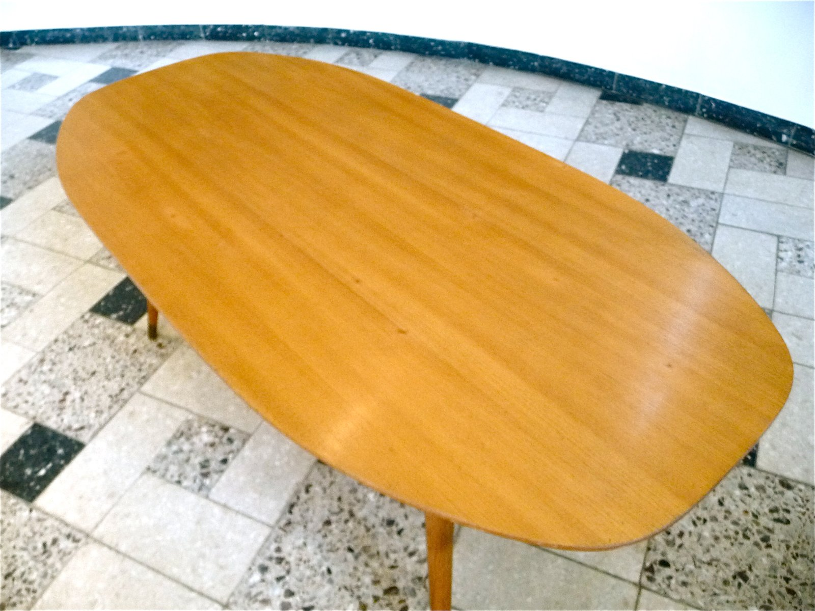 German Oval Birch Coffee Table 1950s For Sale At Pamono