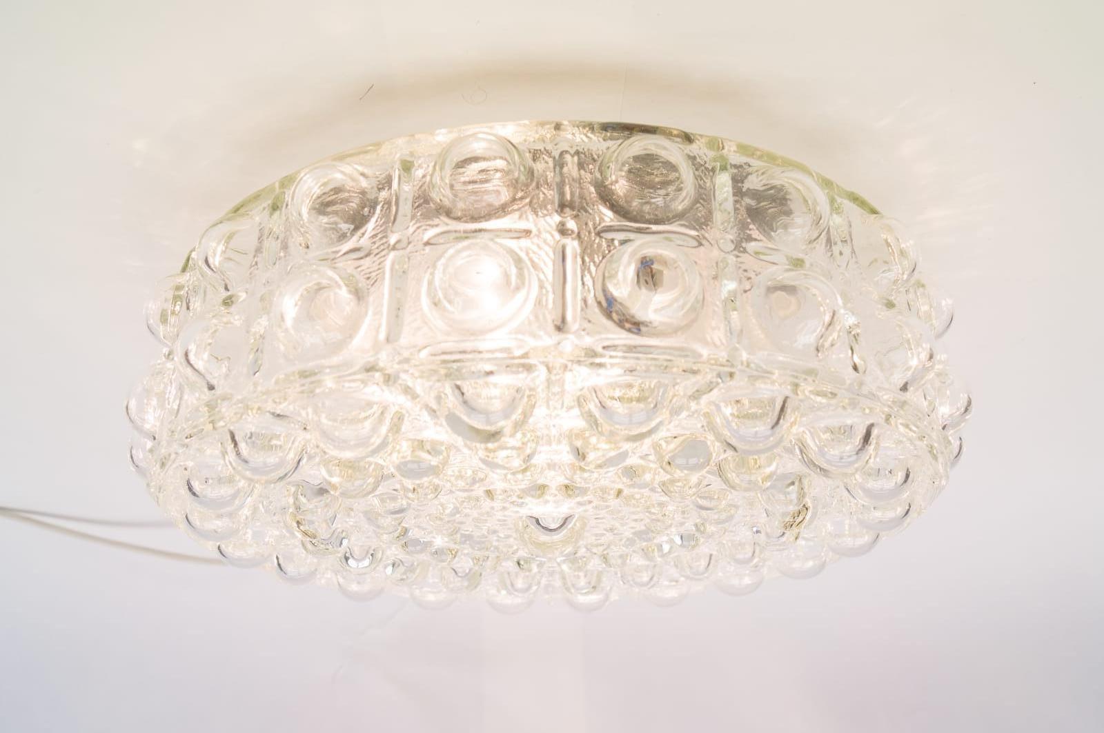 Grande lampe de bureau en verre bull 1960s en vente sur pamono - Grande lampe a bulle ...