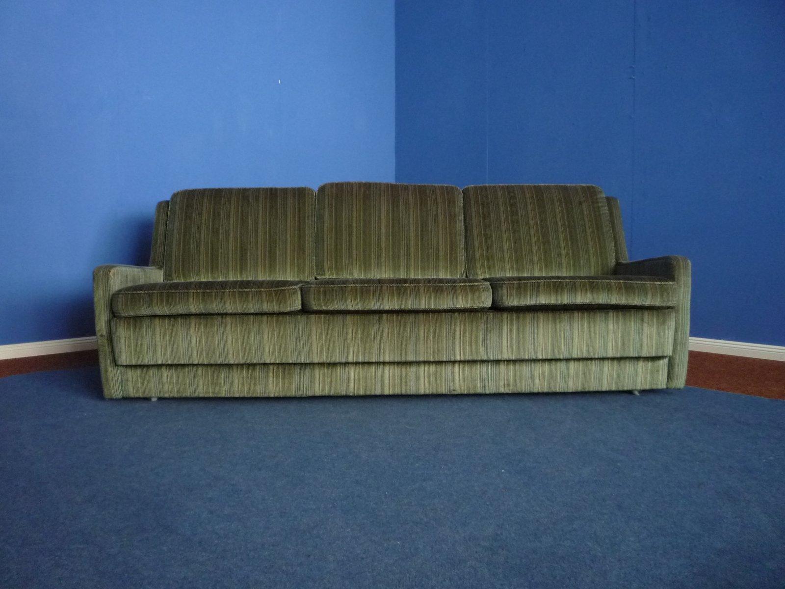 Velour Sofa german velour sofa from kill international 1970s for sale at pamono