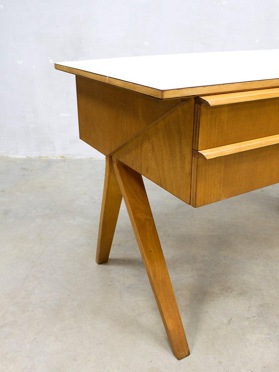 vintage eb02 schreibtisch von cees braakman f r pastoe bei pamono kaufen. Black Bedroom Furniture Sets. Home Design Ideas