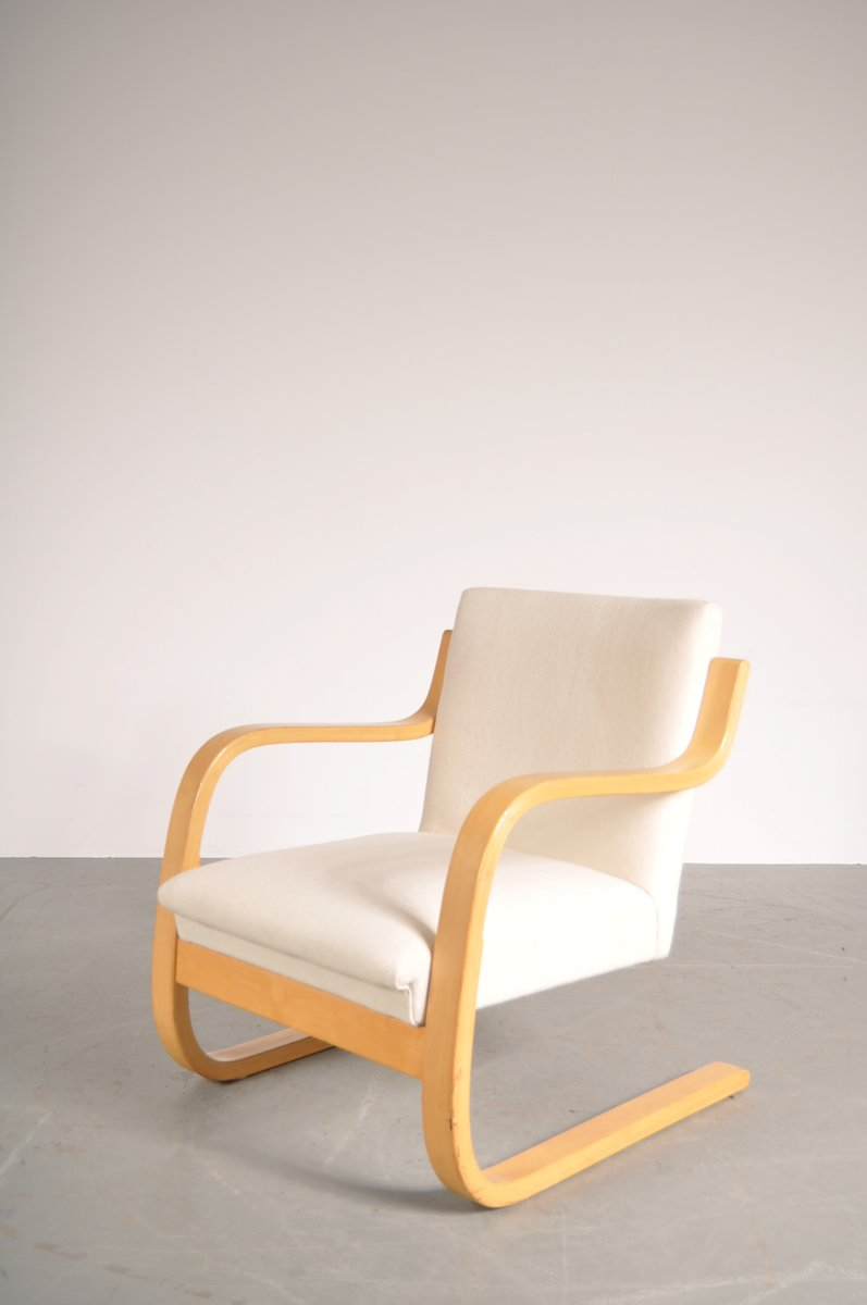 vintage modell 42 sessel von alvar aalto f r artek bei pamono kaufen. Black Bedroom Furniture Sets. Home Design Ideas