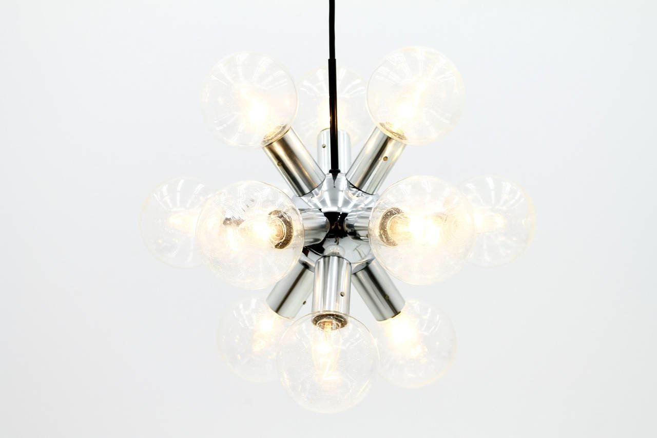 Austrian atomic chandelier by jt kalmar 1960s for sale at pamono austrian atomic chandelier by jt kalmar 1960s arubaitofo Image collections