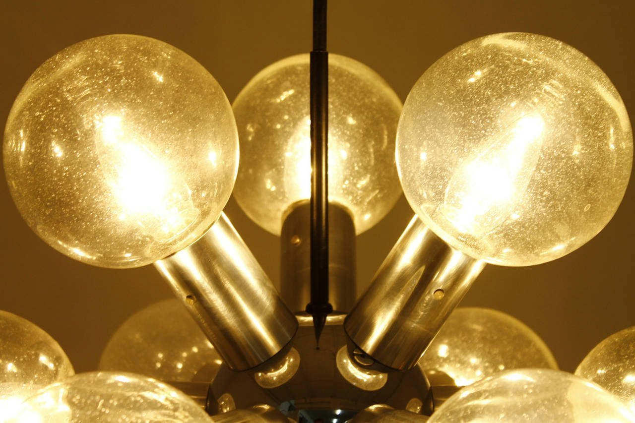 Austrian atomic chandelier by jt kalmar 1960s for sale at pamono price per piece arubaitofo Image collections
