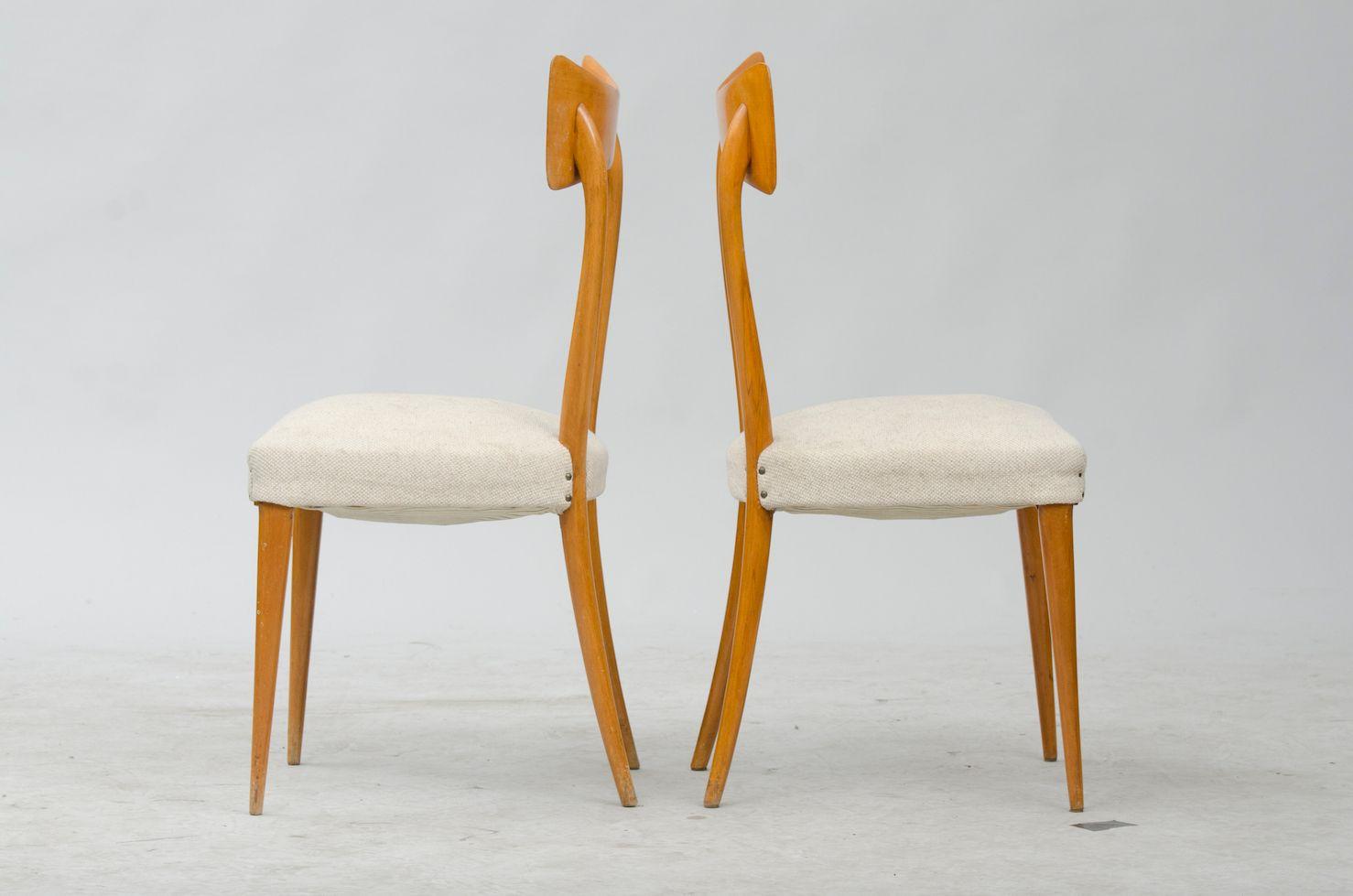 italienische vintage esszimmerst hle 6er set bei pamono. Black Bedroom Furniture Sets. Home Design Ideas