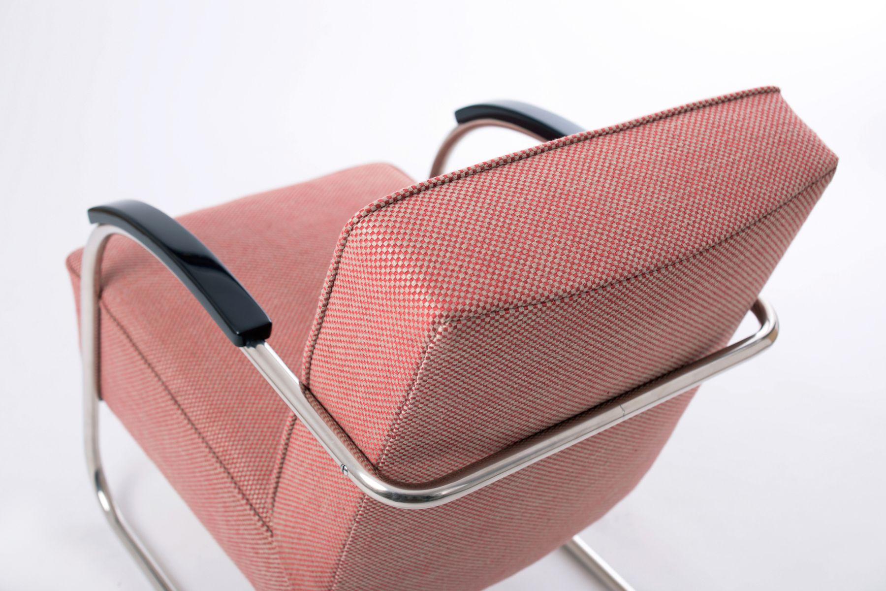 Stahlrohr Sessel tschechische vintage stahlrohr freischwinger sessel mücke