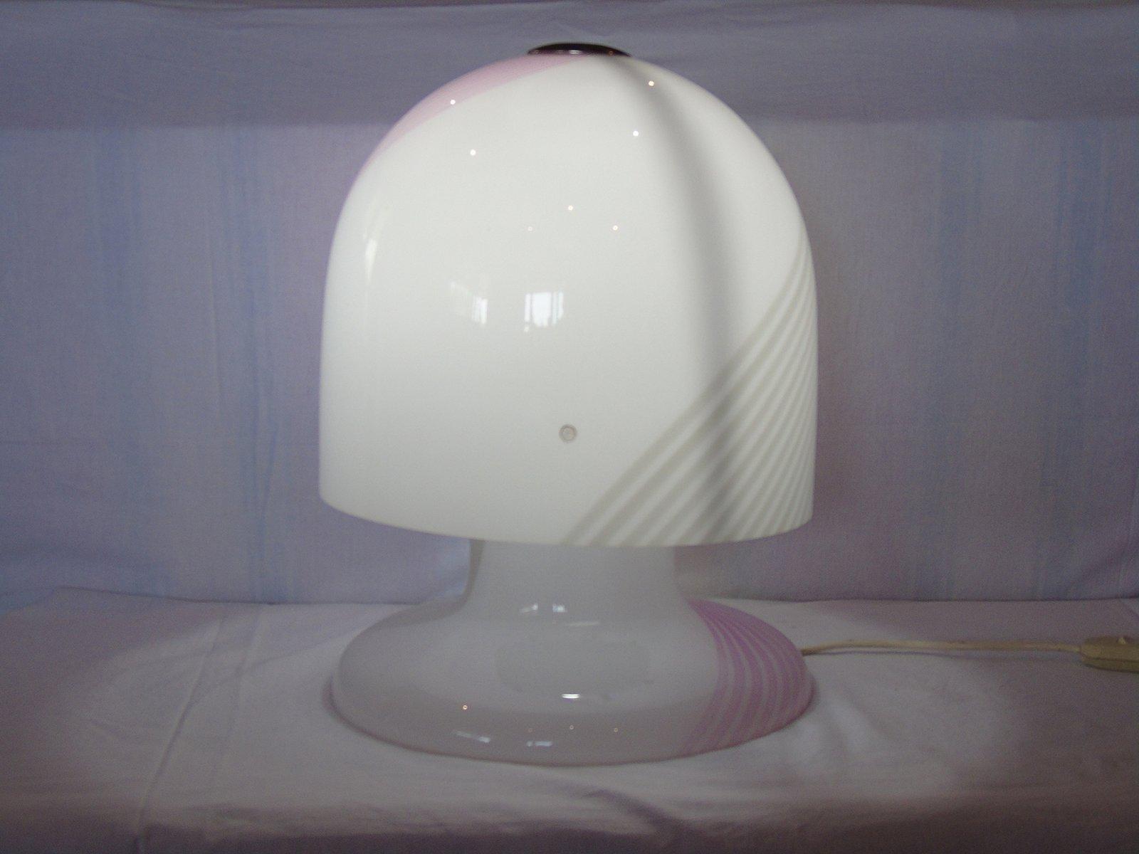 vintage murano glas mushroom lampe von la murrina bei pamono kaufen. Black Bedroom Furniture Sets. Home Design Ideas