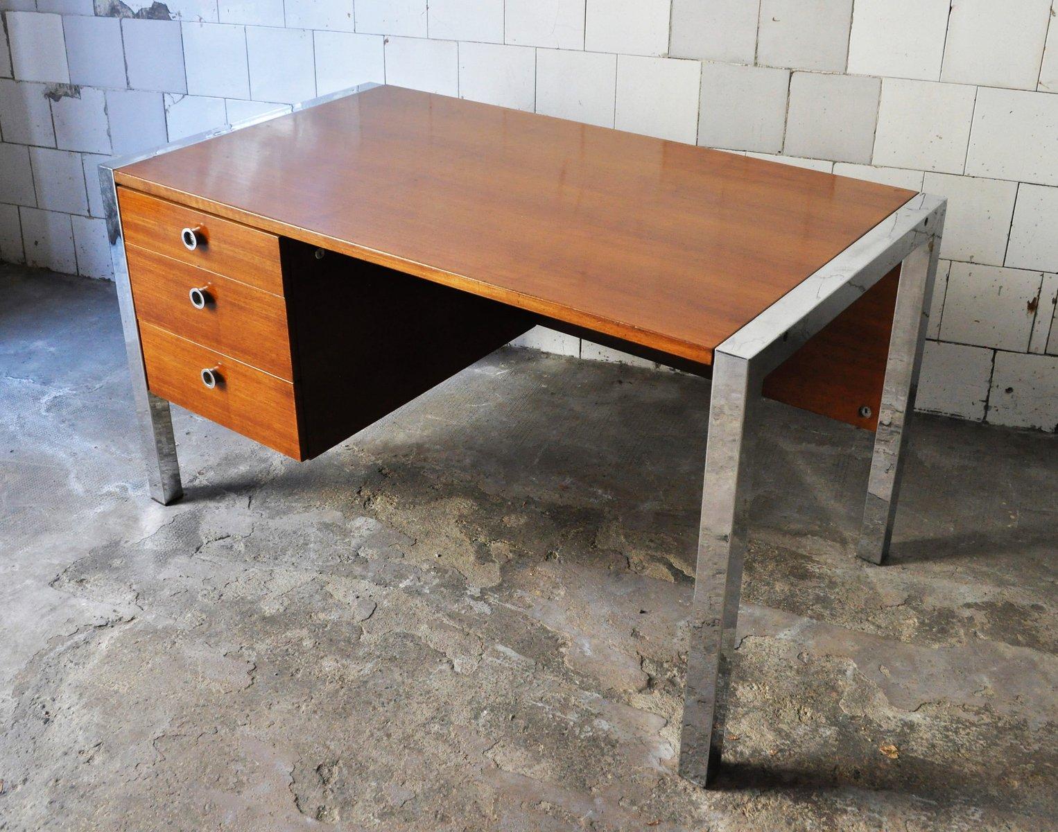 italienischer tecnika schreibtisch von ettore sottsass f r poltronova 1970er bei pamono kaufen. Black Bedroom Furniture Sets. Home Design Ideas
