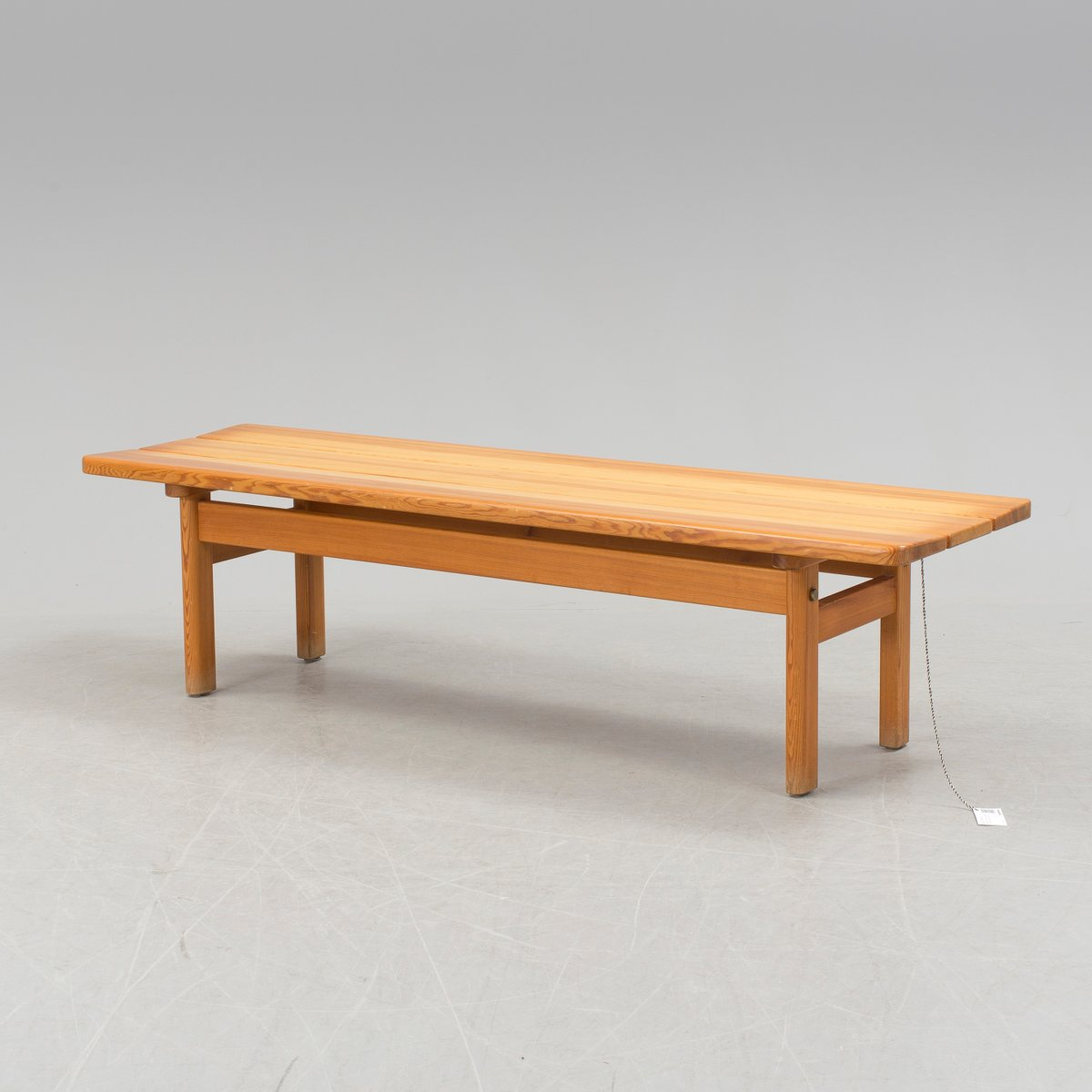 Mid Century Danish Pine Bench By Børge Mogensen For Karl Andersson