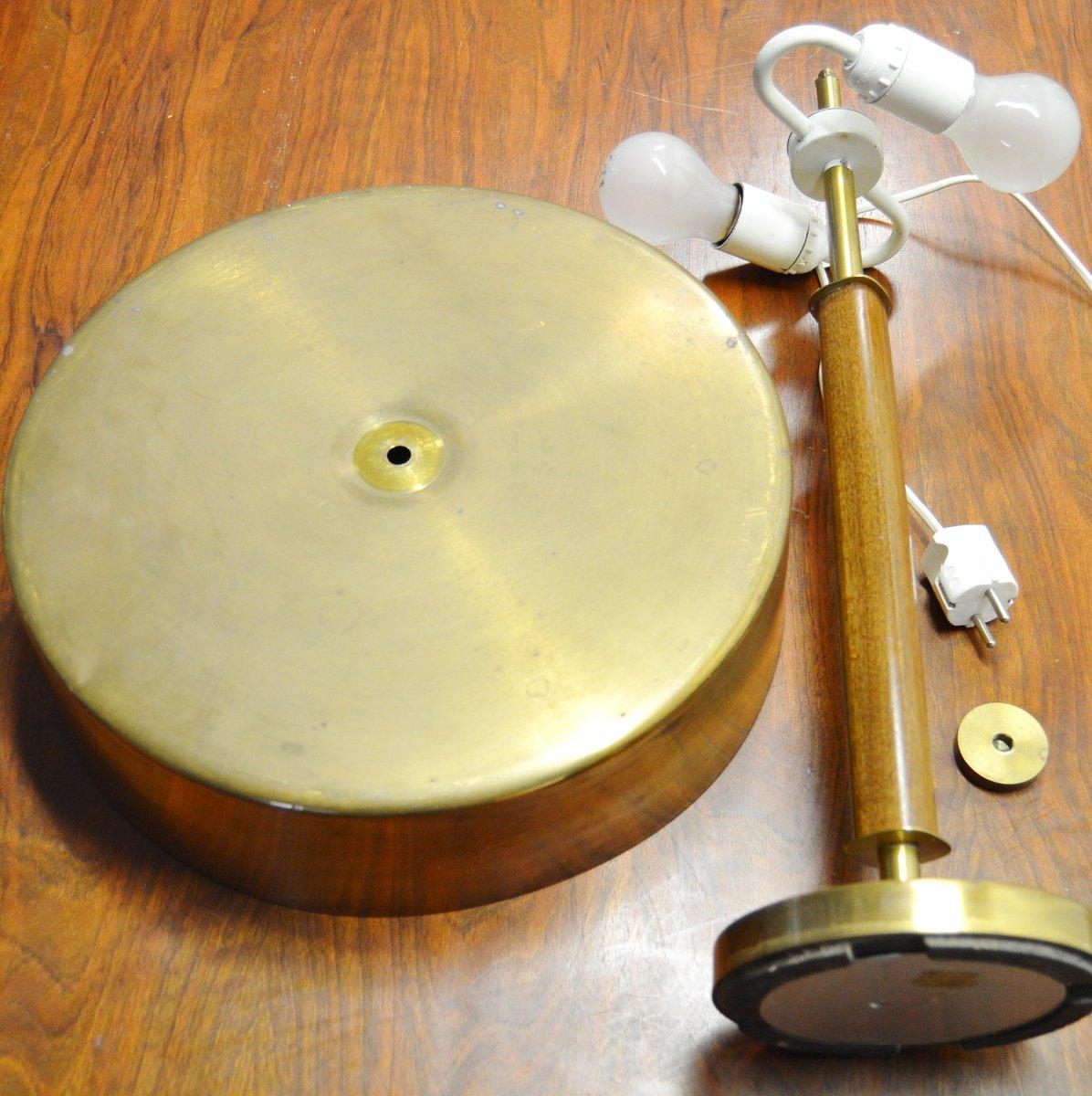 schwedische messing tischlampe 1940er bei pamono kaufen. Black Bedroom Furniture Sets. Home Design Ideas
