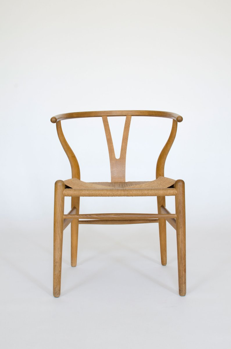 Mid Century CH24 Wishbone Chair By Hans J. Wegner For Carl Hansen U0026 Søn