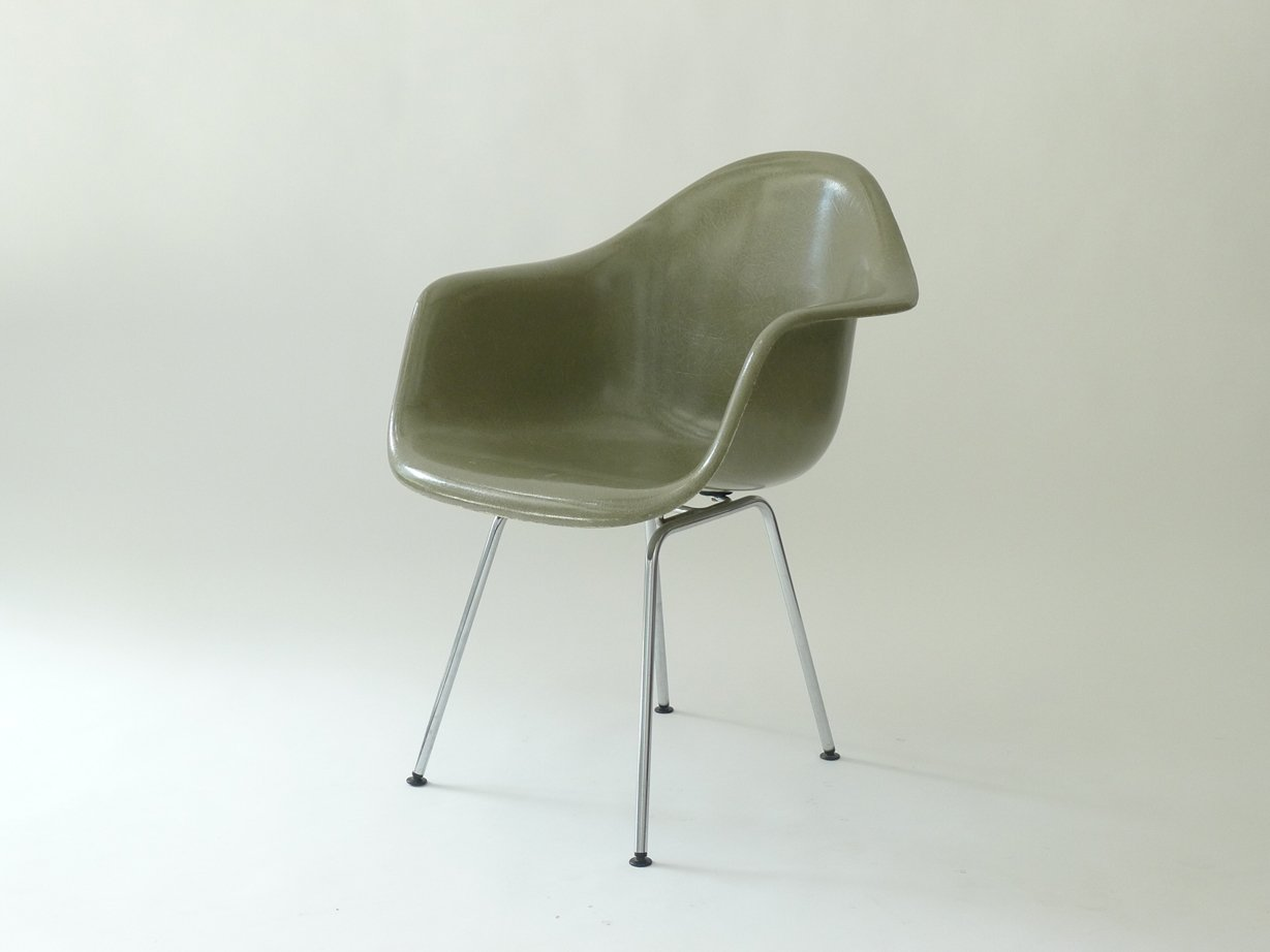 Vintage DAX Armchair By Charles U0026 Ray Eames For Herman Miller For Sale At  Pamono