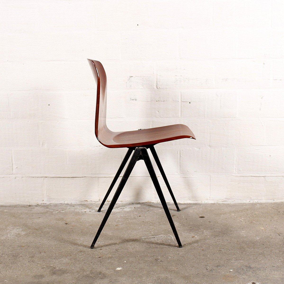 mid century stuhl aus schichtholz metall von pagholz bei pamono kaufen. Black Bedroom Furniture Sets. Home Design Ideas