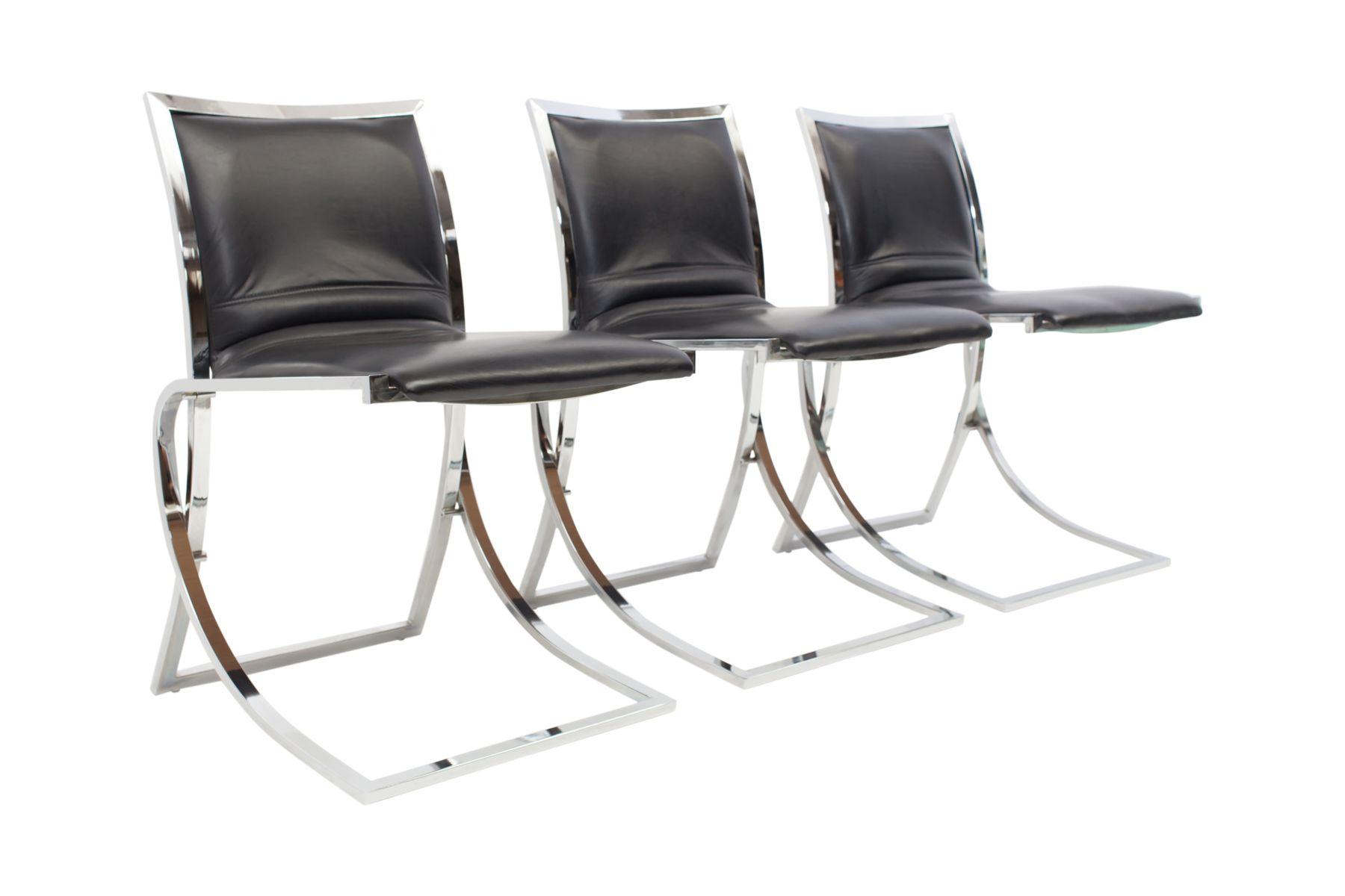 esszimmerst hle von maison jansen 1970er 6er set bei. Black Bedroom Furniture Sets. Home Design Ideas