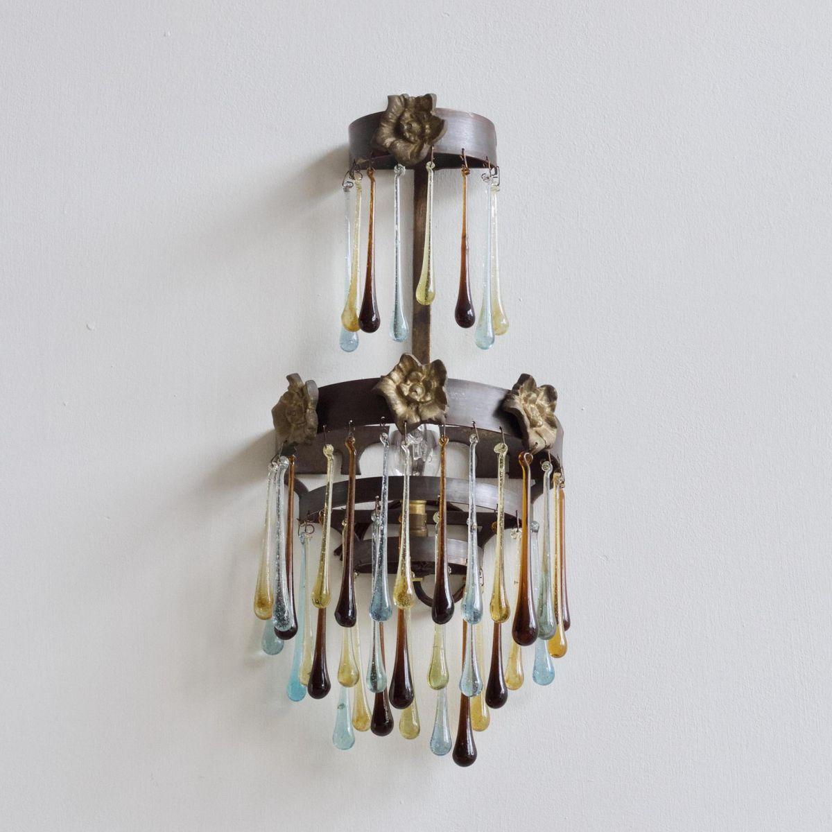 wandlampe vintage retro wandleuchte antik wandlampe vintage my lovely home my lovely home. Black Bedroom Furniture Sets. Home Design Ideas