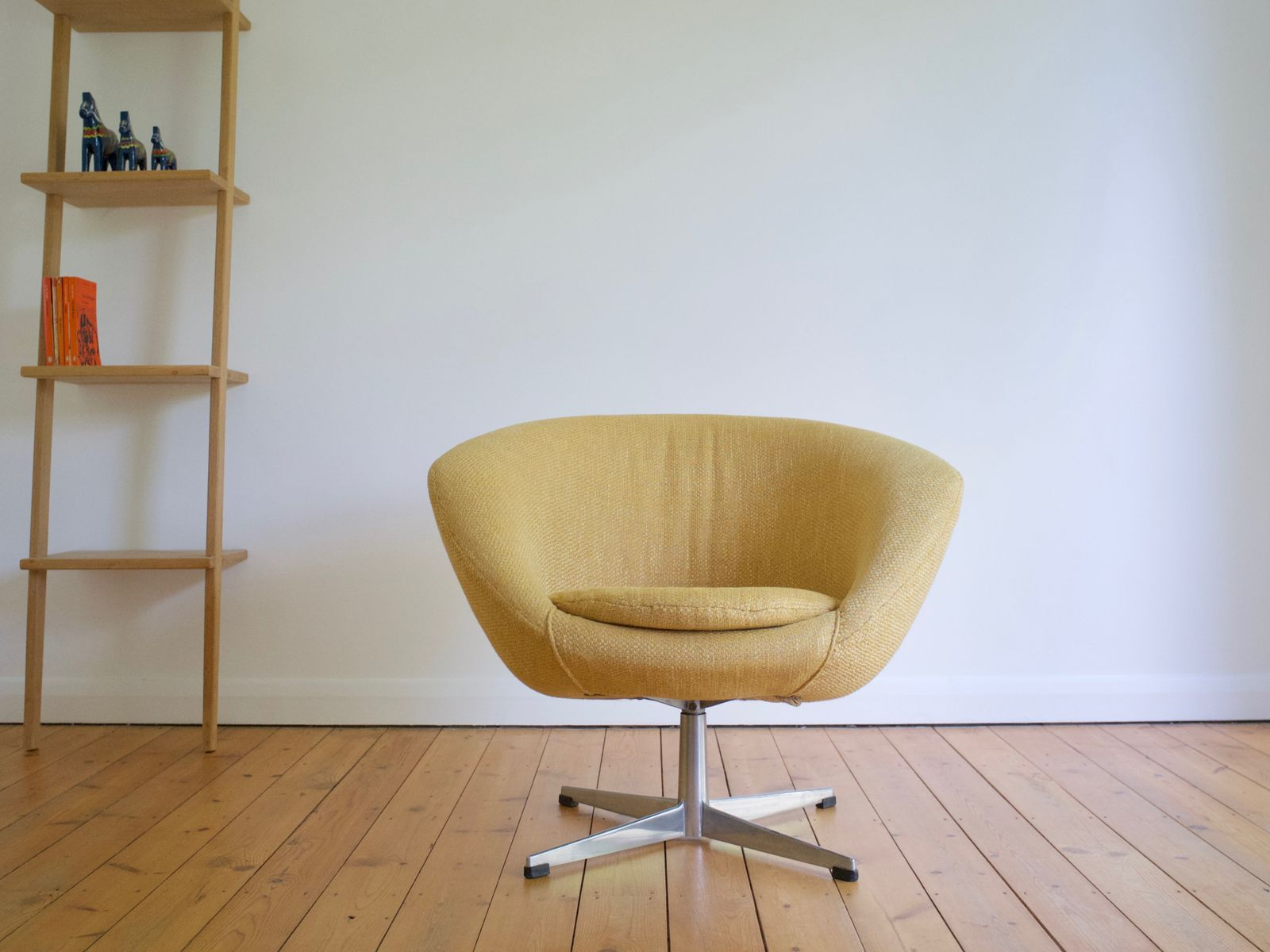 Swedish Swivel Lounge Chair From Overman AB, 1960s