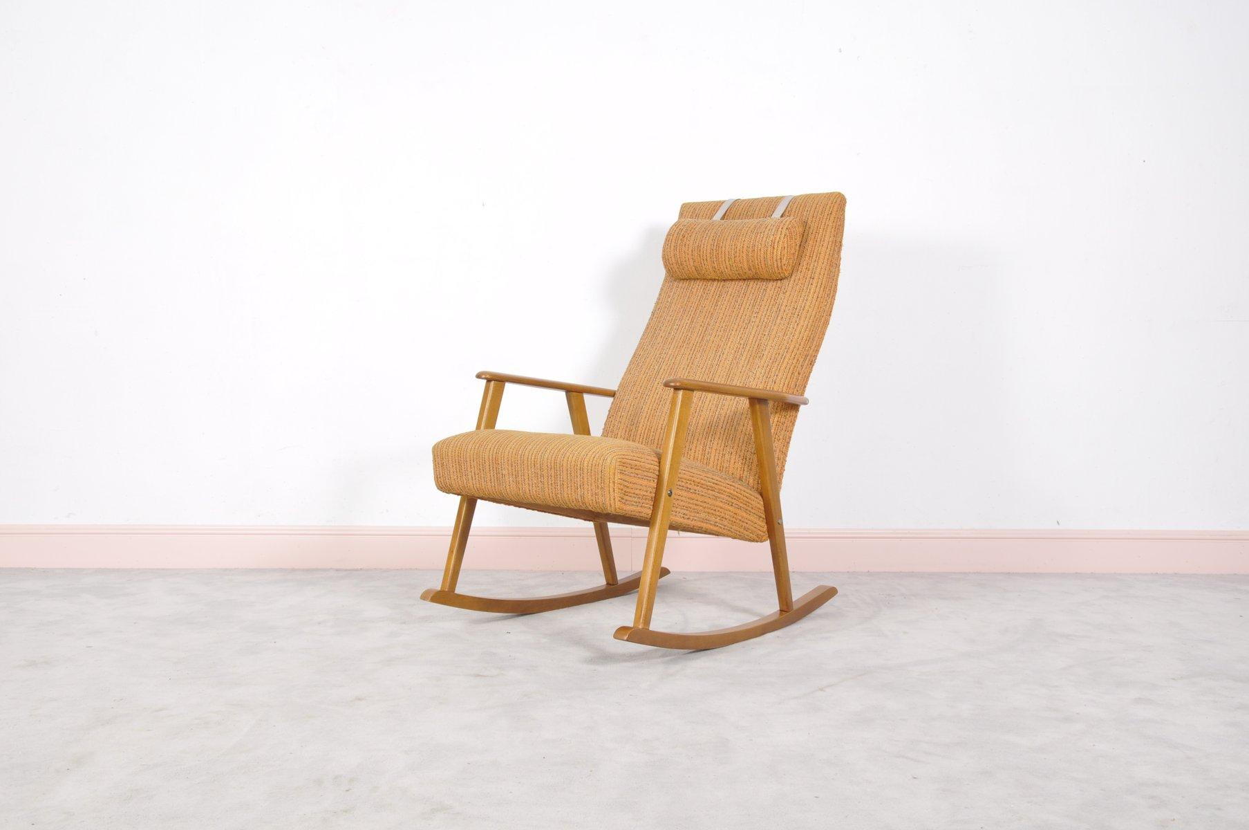 Moderner Schaukelstuhl schwedischer mid century modern schaukelstuhl johanson design